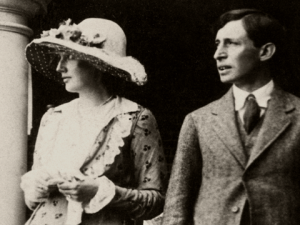 Virginia and Leonard Woolf in 1912, the year of their marriage
